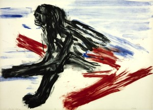 Wounded Sphinx 1965 Leon Golub 1922-2004 Purchased 1988 http://www.tate.org.uk/art/work/P77250