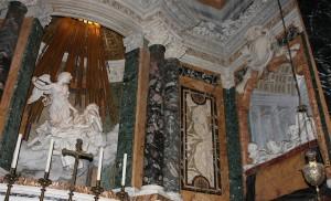 نمایی از محراب کلیسای سانتا ماریا