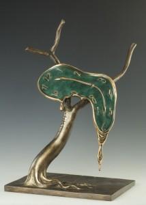dali_bronze_sculpture_profile_of_time راههایی برای از نو نگریستن،سالوادور دالی راههایی برای از نو نگریستن dali bronze sculpture profile of time