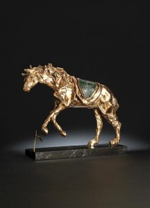 salvador-dalí-horse-saddled-with-time راههایی برای از نو نگریستن،سالوادور دالی راههایی برای از نو نگریستن salvador dal   horse saddled with time