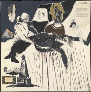 The Murder of Rosa Luxemburg 1960 R.B. Kitaj 1932-2007 Purchased 1980 http://www.tate.org.uk/art/work/T03082