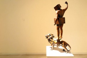 نمایشگاه+مجسمههای+قدرتالله+عاقلی+در+گالری+ساربان1