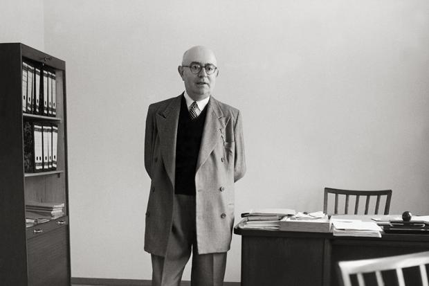 UNSPECIFIED - JANUARY 01:  Theodor W. Adorno. Photography. 1958.  (Photo by Imagno/Getty Images) [Theodor W. Adorno. Photographie. 1958.]