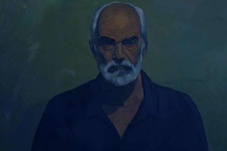 Portrait by Sassan Nasiri, Oil on Canvas, 2009