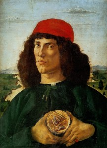 Sandro_Botticelli___Portrait_of_ آیدین آغداشلو تجزیه و تحلیل و نقد آثار نقاشی : آیدین آغداشلو Sandro Botticelli   Portrait of