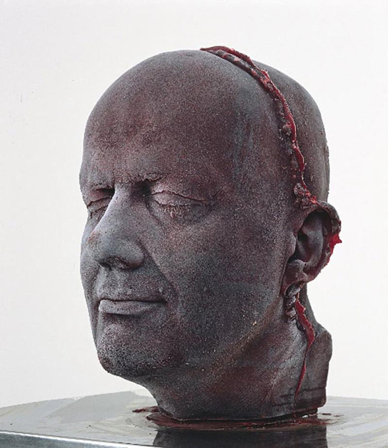 Token images - 01. Marc-Quinn-head تصویرهای نمادی؛ راهنمای کاربر تصویرهای نمادی؛ راهنمای کاربر Token images 01