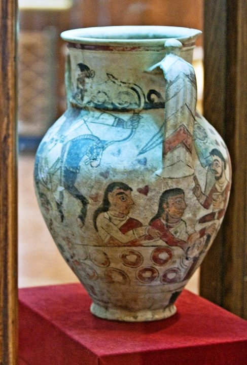کوزه مرو، سده 7-6 میلادی   بازخوانی سوگ در اندیشه اسطورهای- سیاسی ایرانشهری siavash11