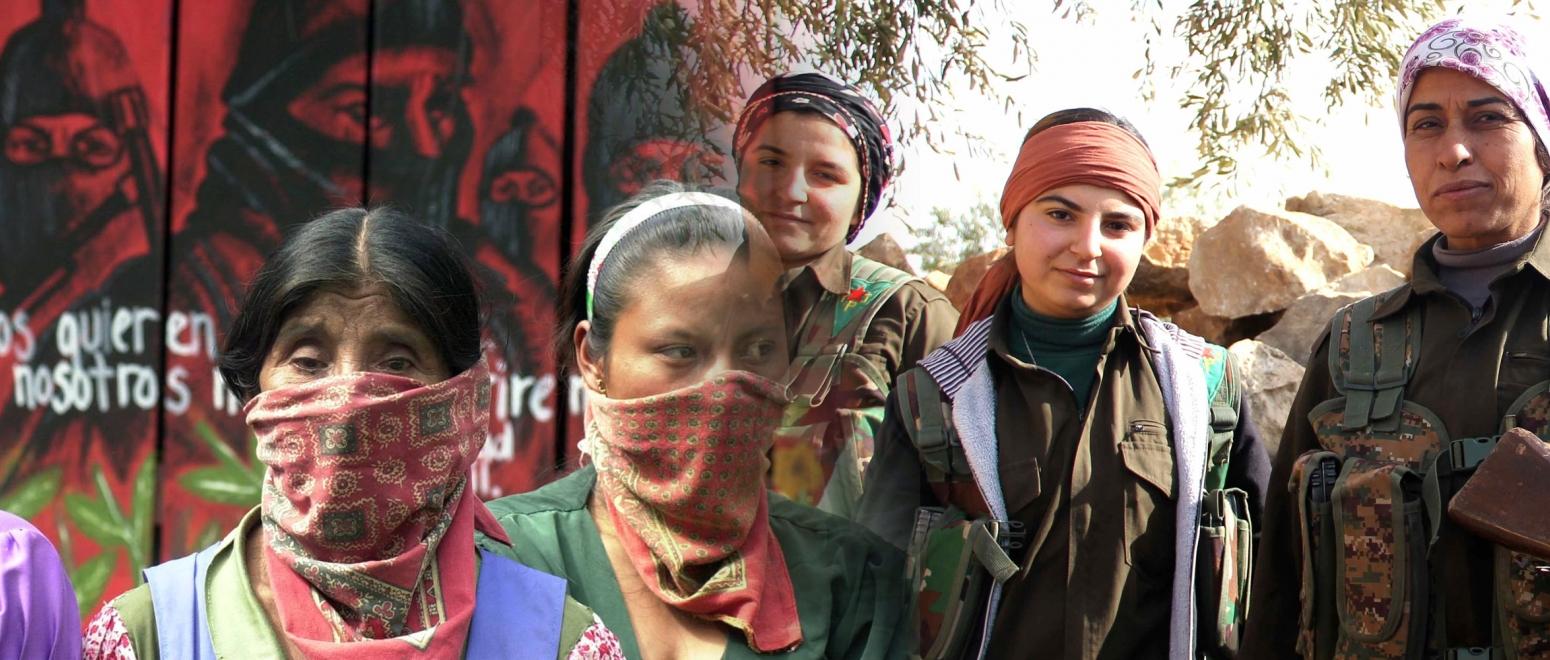 ccead669c12346f229742af90bce1b45 کنفدراسیون دمکراتیک، کردها، زاپاتیستها، زنان شورشی زنانِ شورشی ccead669c12346f229742af90bce1b45