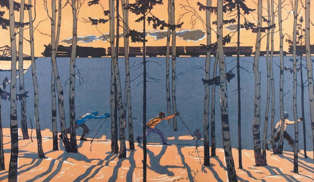 تعطیلات آخر هفته ویکتور پاپکوف ۱۹۵۸  چرا نقاشی واقعگرای سوسیالیستی شایسته نگاهی دوباره است؟